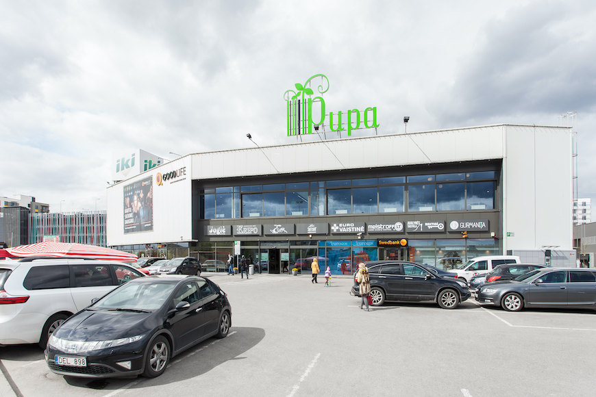 Shopping centre PUPA
