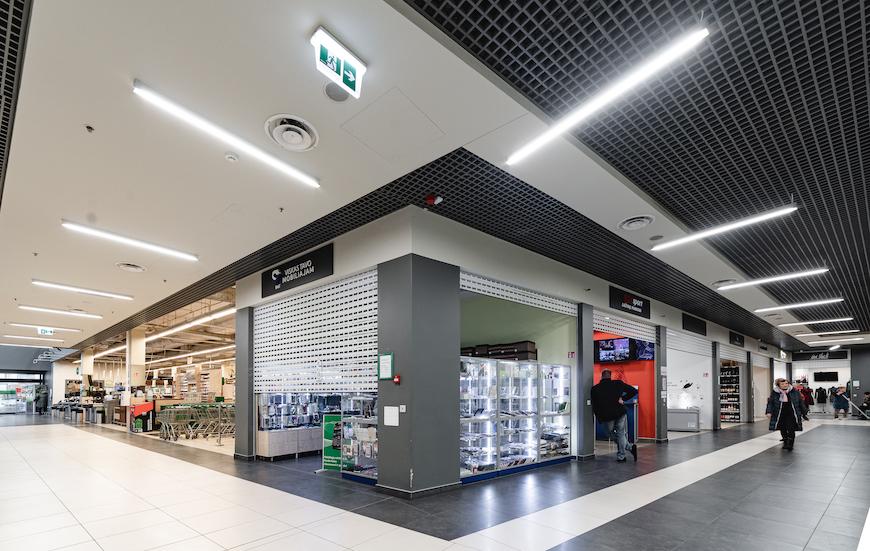 Shopping centre PUPA