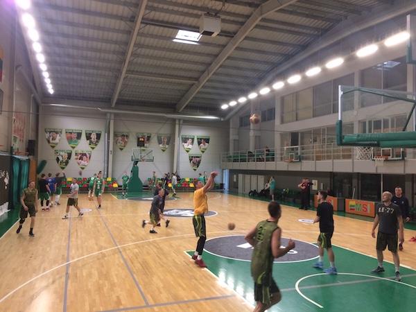 A.Sabonis sport center in Kaunas
