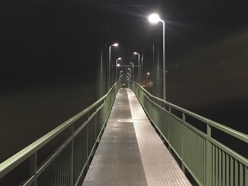 Tiltas per Mūšą, Bauskė