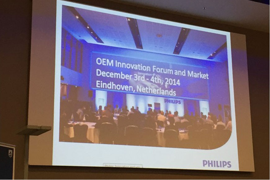 Philips renginys OEM Innovation Forum and Market 2014